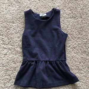 Navy top from Madewell